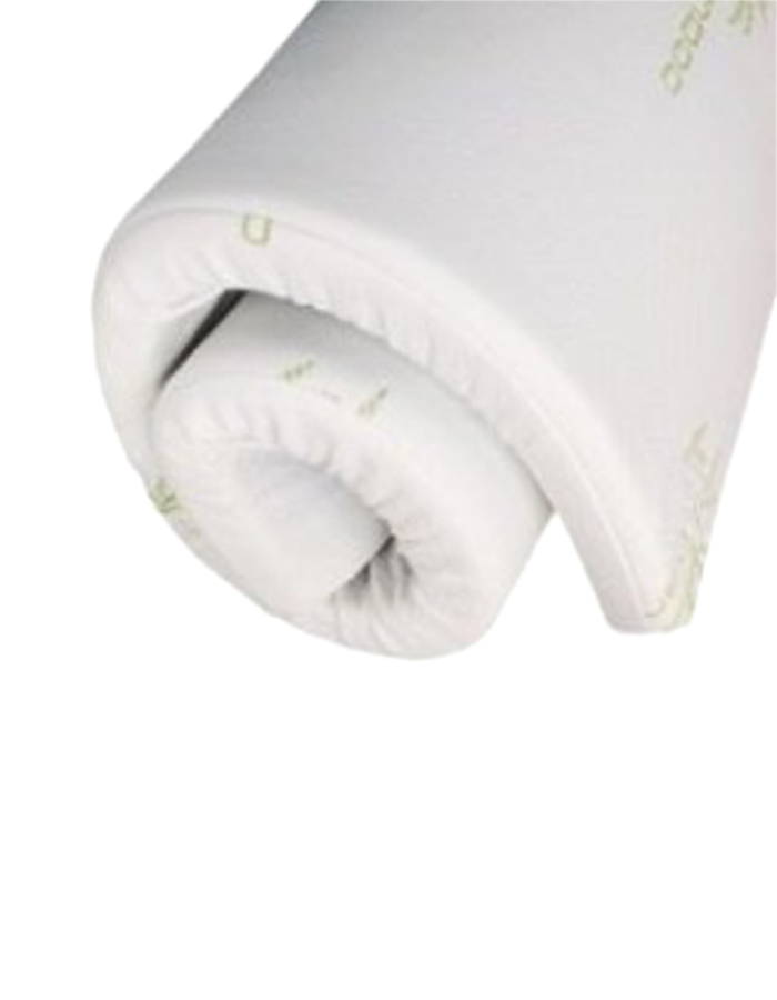 Bamboo Mattress Topper ePromo Rolled Up