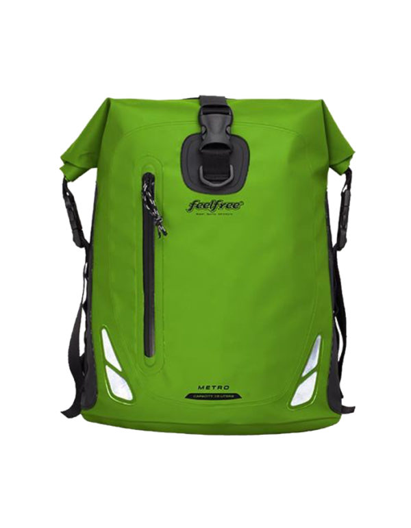 Feelfree-Green-Metro-Bag-ePromo-Front-View